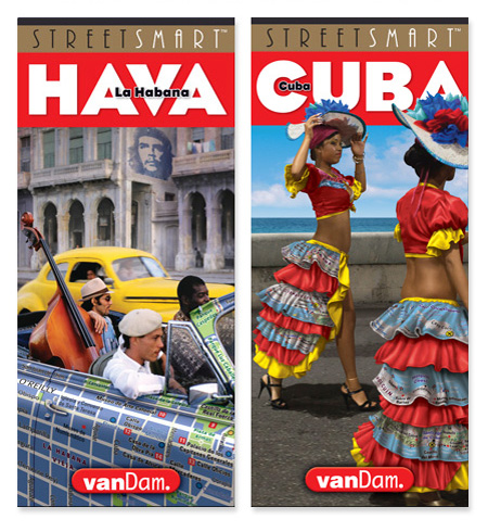 Cuba and Havana maps by VanDam
