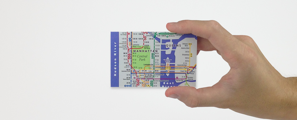 streetsmart mini pocket-sized maps by vandam