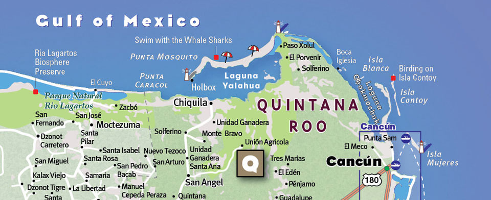 Cancun Map by VanDam Cancun StreetSmart Map – Cancun Tourist Attractions Map