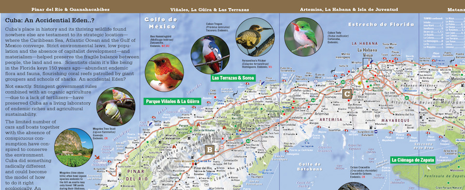 Cuba Map By VanDam Cuba NatureSmart Map City Street Maps Of - Cuba map