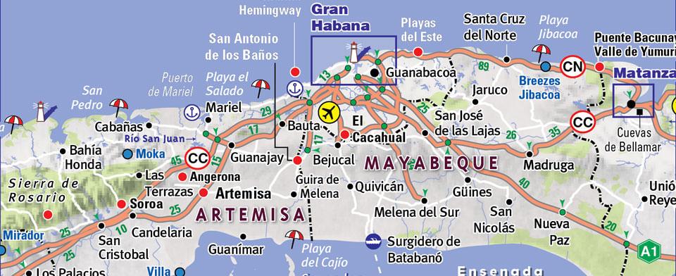 Cuba Map By VanDam Cuba StreetSmart Map City Street Maps Of - Cuba map