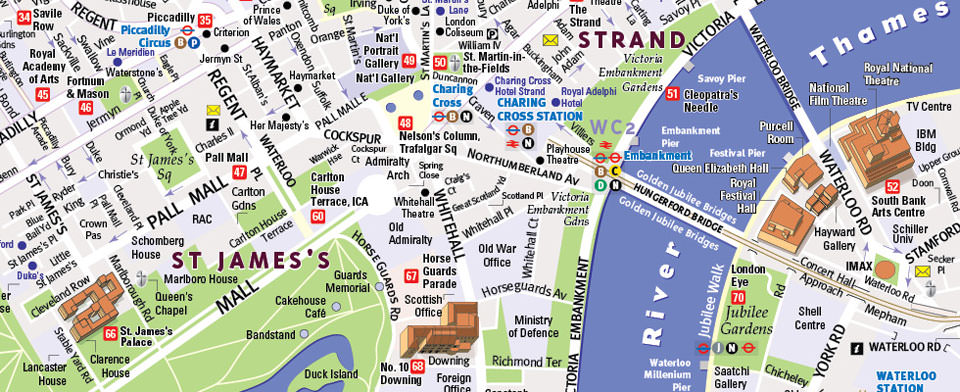London Map By Vandam London Streetsmart Map City Street Maps Of