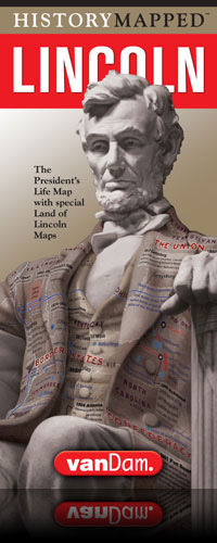 Lincoln Presidential street map