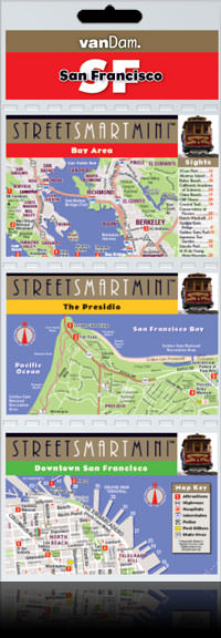San Francisco Mini street map