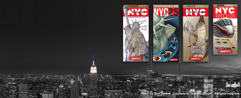 nyc map pack by vandam