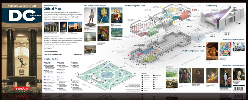 indoor custom map for the national gallery of art by van dam