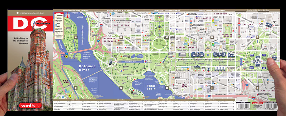 Smithsonian Washington Dc Map.Vandam Clients Smithsonian Smithsonian By Vandam