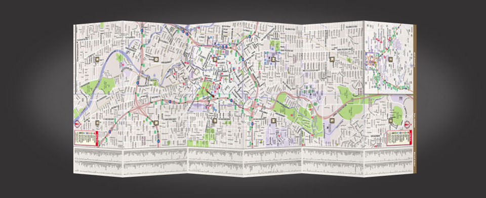San Antonio street map by VanDam, StreetSmart San Antonio map