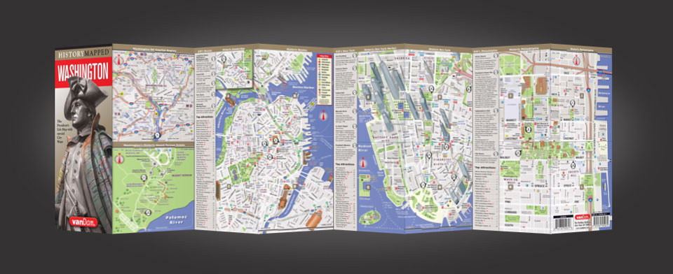 Philadelphia street map by VanDam, History Mapped Philadelphia map